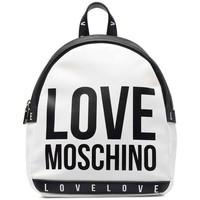 Taška Ženy Batohy Love Moschino JC4183PP1DLI0100 Bílé