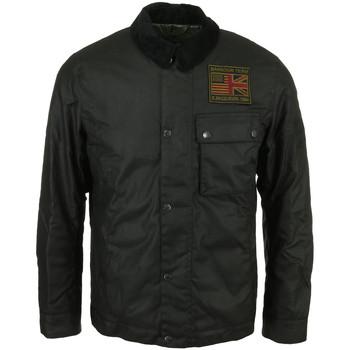 Textil Muži Bundy Barbour Workers Wax Jacket Černá