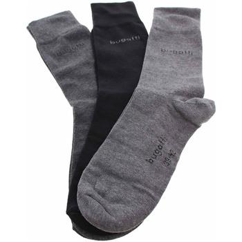 Doplňky  Ponožky Bugatti pánské ponožky 6803X 610 black Černá