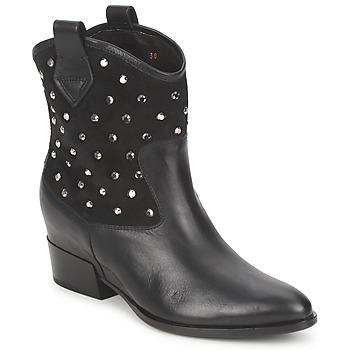 Boty Ženy Kotníkové boty Alberto Gozzi GIANNA Samet-Černý