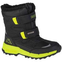 Boty Chlapecké Zimní boty Kappa Cekis Tex K Černá
