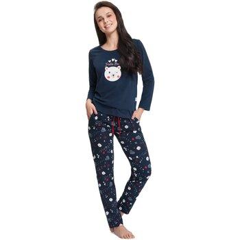 Textil Ženy Pyžamo / Noční košile Luna Dámské pyžamo 680