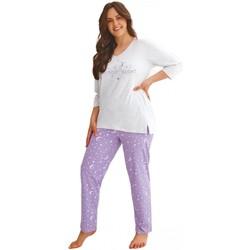 Textil Ženy Pyžamo / Noční košile Taro Dámské pyžamo 2602 Izabel