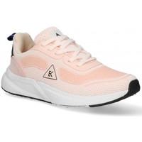 Boty Ženy Nízké tenisky Etika 55409 Růžová