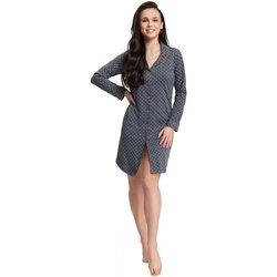 Textil Ženy Pyžamo / Noční košile Luna Noční košile 42 dark grey