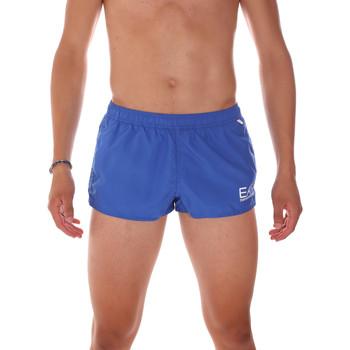 Textil Muži Plavky / Kraťasy Ea7 Emporio Armani 902008 7P731 Modrý