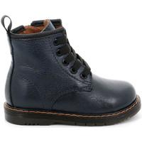 Boty Děti Kotníkové boty Grunland PP0255 Modrý