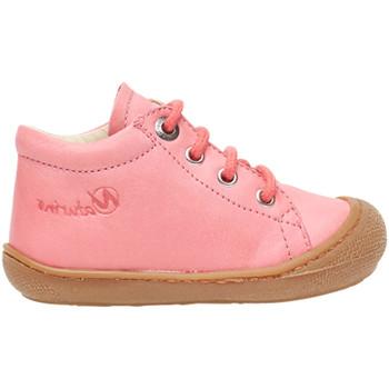 Boty Děti Kotníkové tenisky Naturino 2012889 01 Růžový