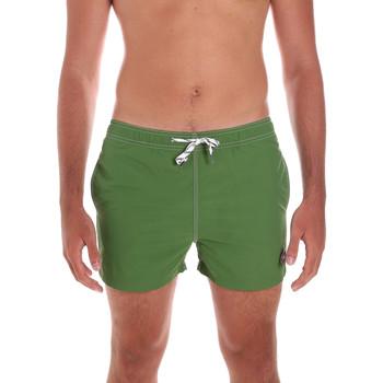 Textil Muži Plavky / Kraťasy Key Up 298XM 0001 Zelený