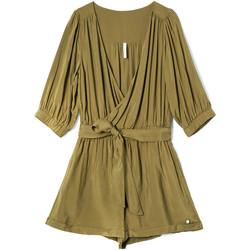 Textil Ženy Overaly / Kalhoty s laclem Pepe jeans PL230355 Zelený