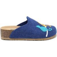 Boty Ženy Papuče Bionatura 12BLMOO-I-FELB88 Modrý