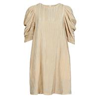 Textil Ženy Krátké šaty Moony Mood  Béžová