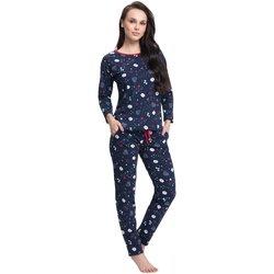 Textil Ženy Pyžamo / Noční košile Luna Dámské pyžamo 480