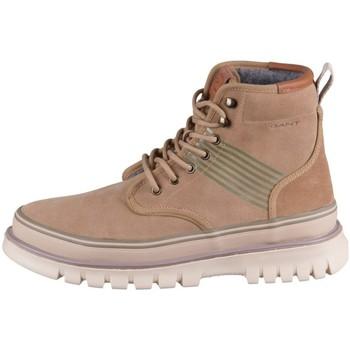 Boty Muži Kotníkové boty Gant Nebrada Mid Béžové