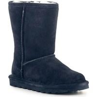 Boty Ženy Zimní boty Bearpaw Elle Short Tmavomodré