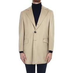 Textil Muži Kabáty Kiton UGO411K0114018003 Béžová