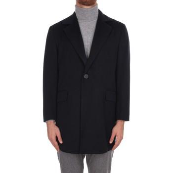 Textil Muži Kabáty Kiton UGO411K0114067 Modrá