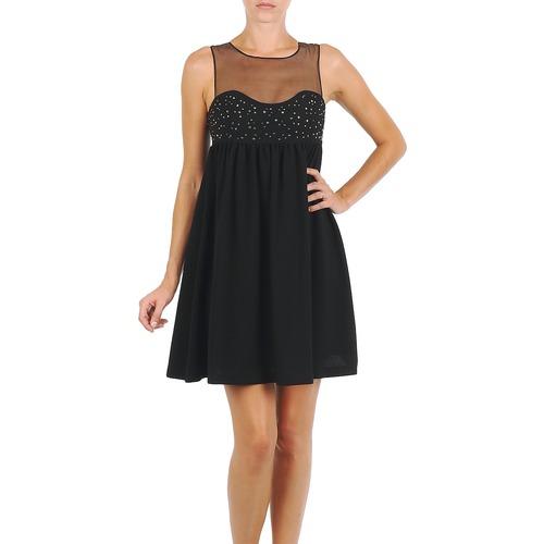 Textil Ženy Krátké šaty Manoush ROBE ETINCELLE Černá