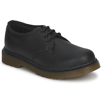 Boty Děti Šněrovací polobotky  Dr Martens Dm J Shoe Černá
