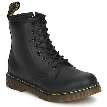 Boty Děti Kotníkové boty Dr Martens DM J BOOT Černá