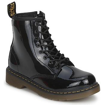Boty Děti Kotníkové boty Dr Martens DELANEY Černá