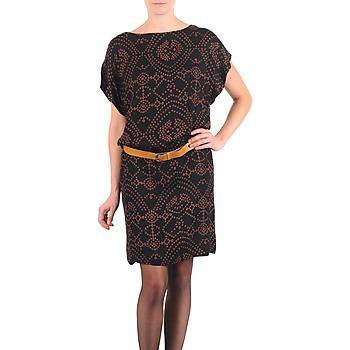 Textil Ženy Krátké šaty Antik Batik QUINN Černá