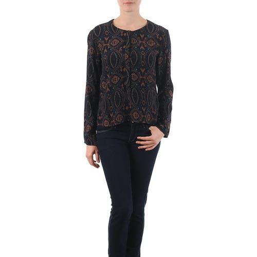 Textil Ženy Halenky / Blůzy Antik Batik VEE Černá