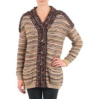 Textil Ženy Svetry / Svetry se zapínáním Antik Batik WAYNE Béžová