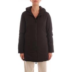 Textil Ženy Kabáty People Of Shibuya NIKIRA/PM766-999 Černá