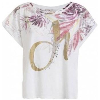 Textil Ženy Trička s krátkým rukávem Deha D4312210001 Bílé