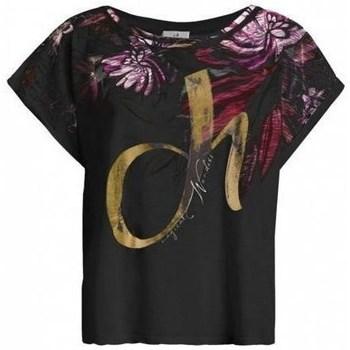 Textil Ženy Trička s krátkým rukávem Deha D4312210009 Černé