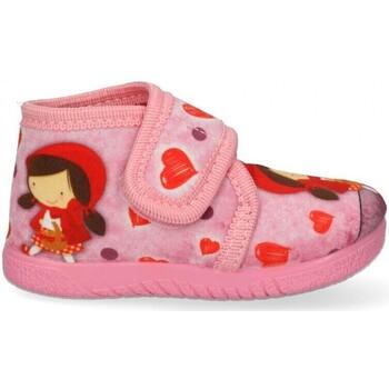 Boty Dívčí Papuče Luna Collection 60548 Růžová