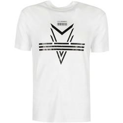 Textil Muži Trička s krátkým rukávem Les Hommes  Bílá