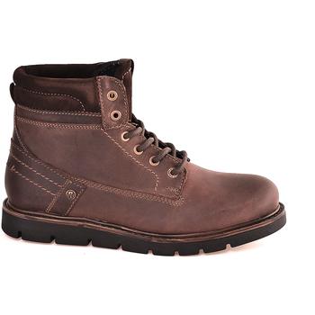 Boty Muži Kotníkové boty Wrangler WM182011 Hnědý