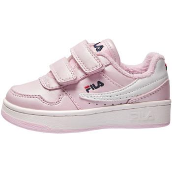 Boty Děti Nízké tenisky Fila 1011078 Růžový