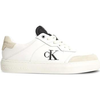 Boty Muži Nízké tenisky Calvin Klein Jeans YM0YM00283 Bílý