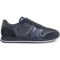 Boty Muži Nízké tenisky Calvin Klein Jeans HM0HM00315 Modrý