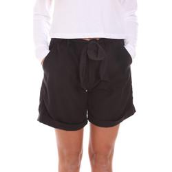 Textil Ženy Kraťasy / Bermudy Gas 375274 Černá