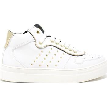 Boty Děti Nízké tenisky 4us 4U-062 Bílý