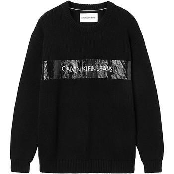Textil Muži Svetry Calvin Klein Jeans J30J317119 Černá