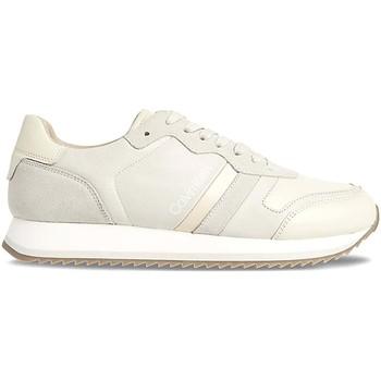 Boty Muži Nízké tenisky Calvin Klein Jeans HM0HM00287 Bílý