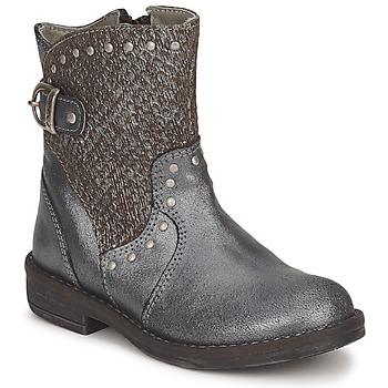 Boty Dívčí Kotníkové boty Noel FRANCA Stříbřitá