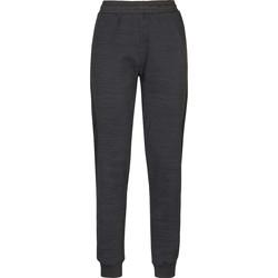 Textil Ženy Teplákové kalhoty Kappa Pantalon femme  savonata noir/gris foncé
