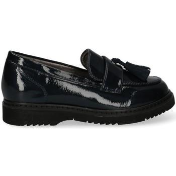 Boty Dívčí Šněrovací polobotky  & Šněrovací společenská obuv Bubble 60571 Modrá