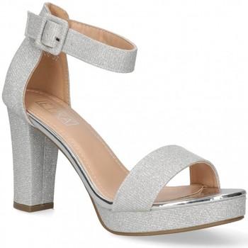 Boty Ženy Sandály Etika 58928 Stříbrná