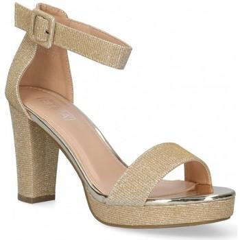 Boty Ženy Sandály Etika 58929 Zlatá