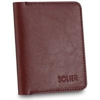 Taška Muži Náprsní tašky Solier SW10BROWNMAROON23258 Vínově červené