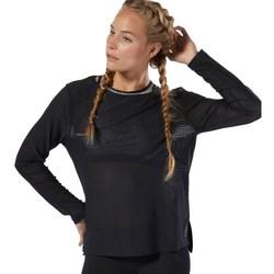 Textil Ženy Trička s dlouhými rukávy Reebok Sport Crossfit Jacquard Černé