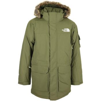 Textil Muži Parky The North Face Mc Murdo Jacket Zelená