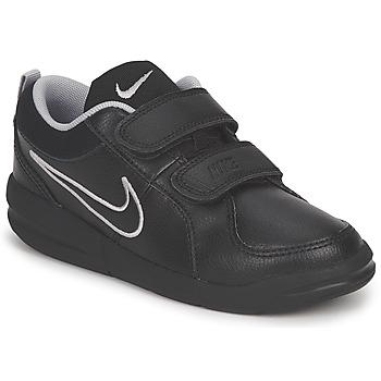 Boty Děti Nízké tenisky Nike PICO 4 PSV Černá / Šedá